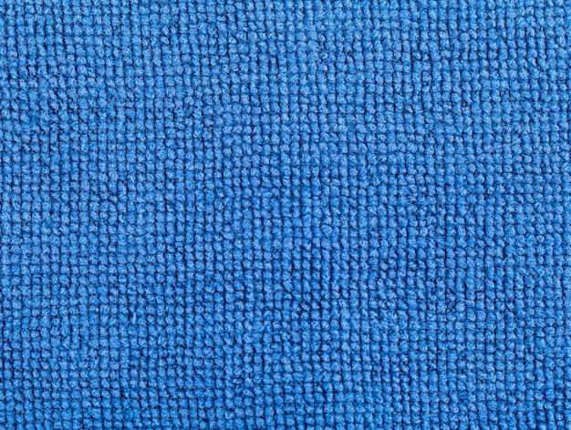Blaue stoffstruktur