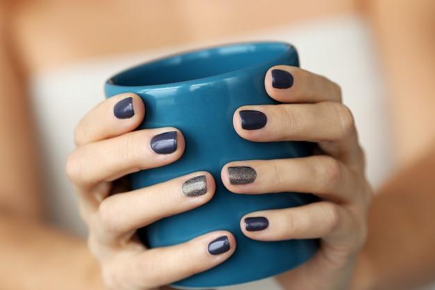 Blaue tasse