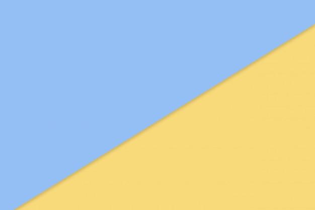 Blaue und gelbe pastellpapierfarbe für beschaffenheitshintergrund
