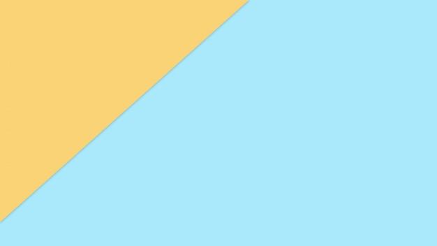 Blaue und orange pastellpapierfarbe für beschaffenheitshintergrund