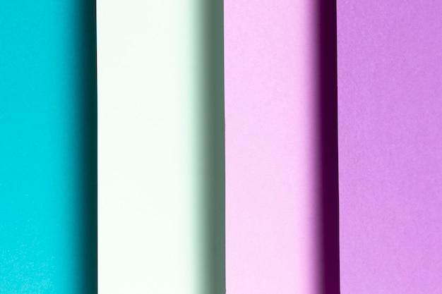 Blaue und purpurrote musternahaufnahme
