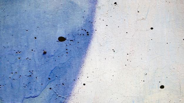 Blaue und weiße wandbeschaffenheit, schmutzhintergrund