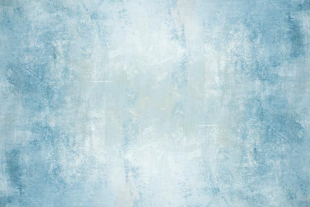 Blaue wandtapete beton. moderne und zeitgenössische künstlerische malerei
