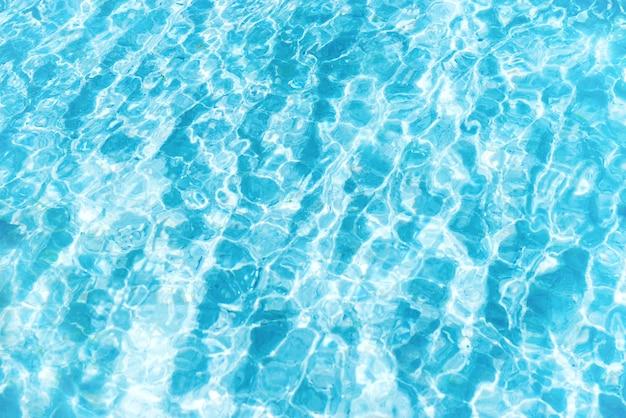 Blaue wassertextur mit wellen kann als hintergrund verwendet werden