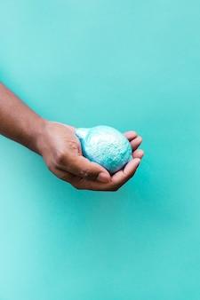 Blaue zitrone