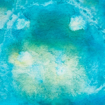 Blauer abstrakter strukturierter hintergrund des aquarells