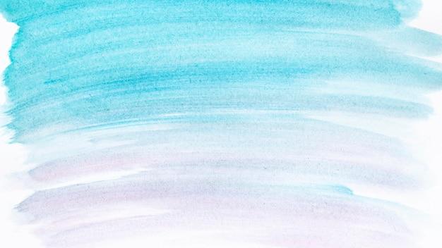 Blauer aquarellpinselverlauf