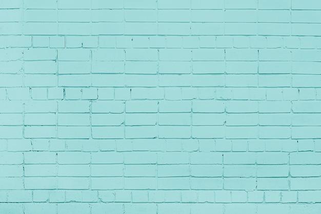 Blauer backsteinmauerhintergrund. mauerwerk