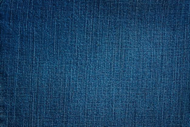 Blauer baumwollstoffhintergrund und gemasert