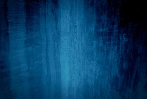 Blauer betonbeschaffenheitswandhintergrund der weinlese grunge