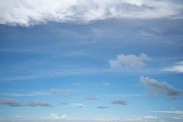 Blauer bewölkter himmel bei tageslicht