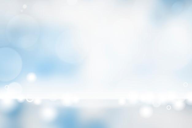 Blauer bokeh strukturierter einfacher produkthintergrund