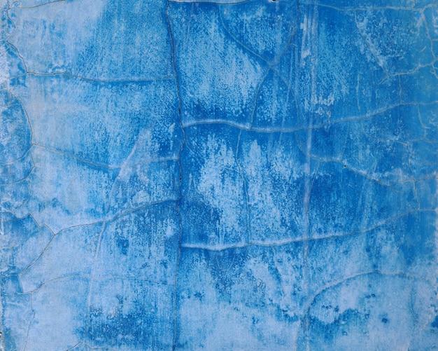 Blauer farben-zusammenfassungshintergrund der alten wand