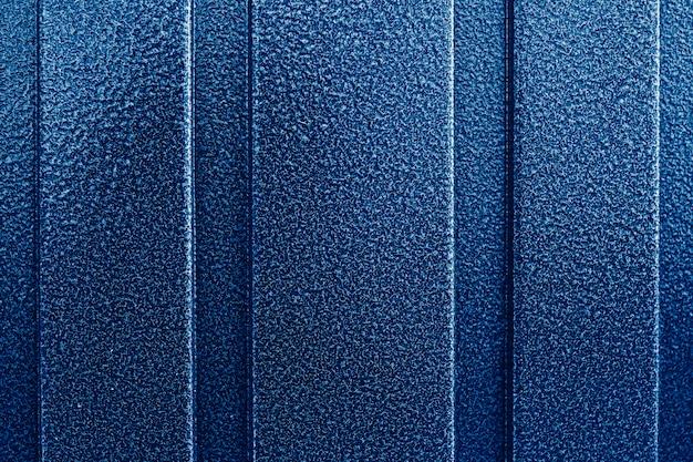 Blauer hammer lackierte oberfläche
