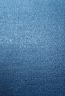 Blauer hintergrund der leinwandbeschaffenheit