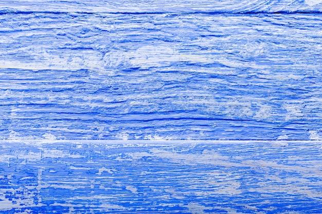 Blauer hölzerner texturhintergrund der farbe