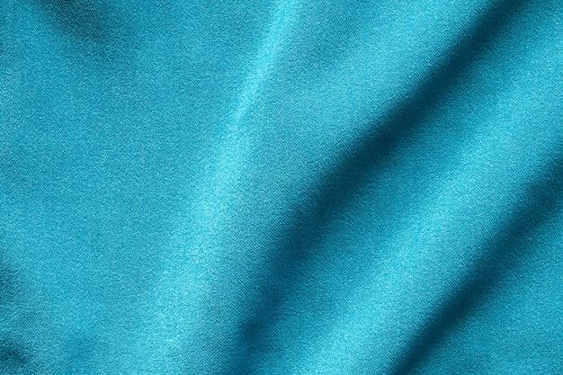 Blauer kleidungsstoff-texturmusterhintergrund