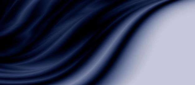 Blauer luxusgewebehintergrund mit kopienraum