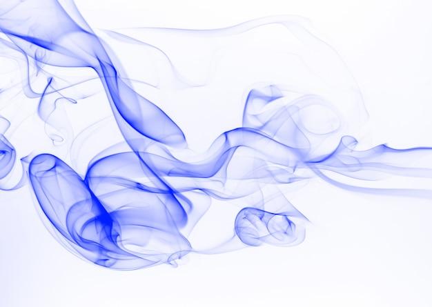 Blauer rauch abstrakt