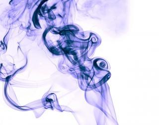 Blauer rauch geist