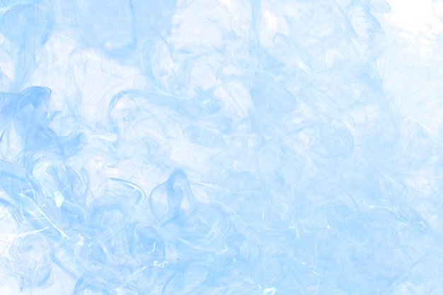 Blauer rauchhintergrund, strukturierte tapete in hoher auflösung