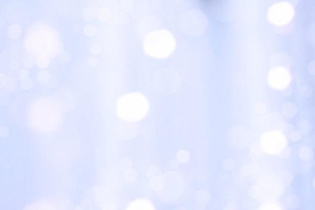 Blauer stoff mit bokeh light reflex unschärfe