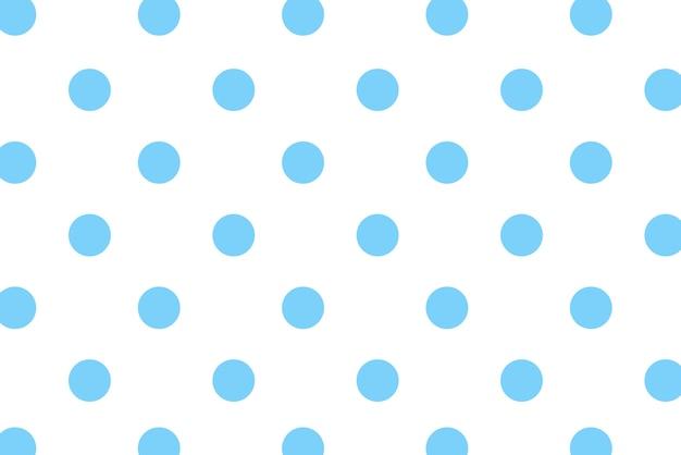 Blauer tupfen mit buntem hintergrund