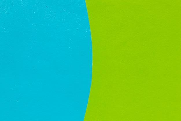 Blauer und grüner wandhintergrund