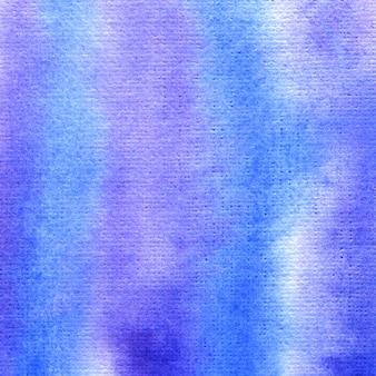 Blauer und purpurroter aquarellhintergrund. abstrakter handgemalter hintergrund.