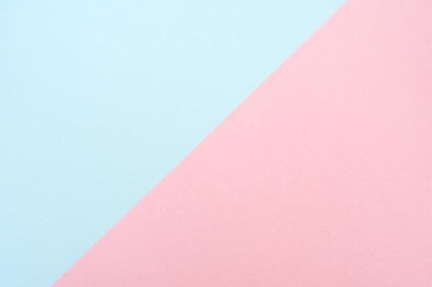 Blauer und rosa papierhintergrund