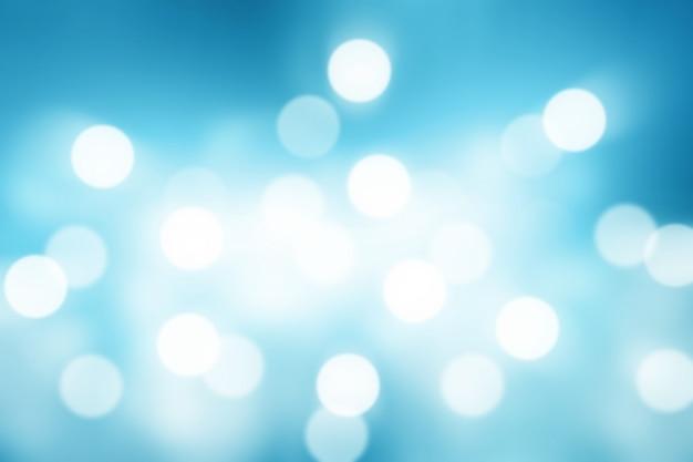 Blauer verlaufshintergrund oder bokeh-abstrakt für tapete