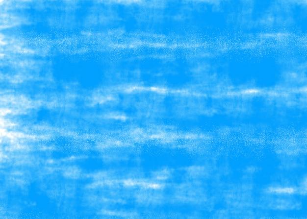 Blauer wandhintergrund.