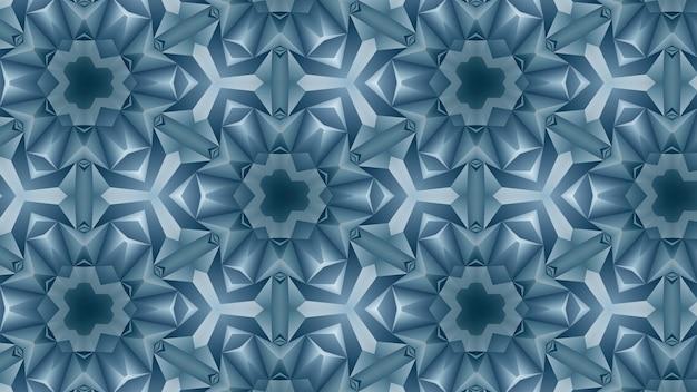 Blauer weißer geometrischer hintergrund