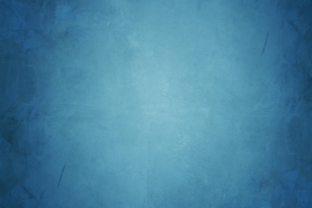 Blauer zementwand- und schmutzbetontapetenhintergrund