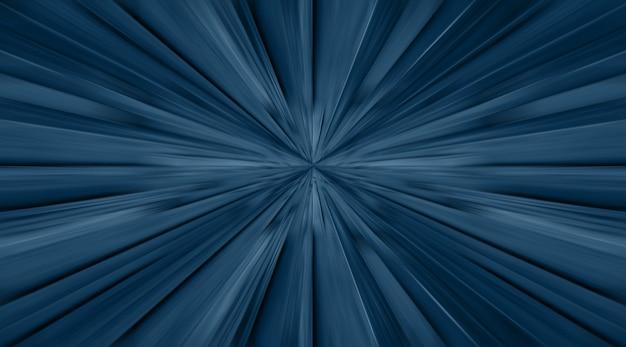 Blauer zoom radiale bewegungsunschärfe