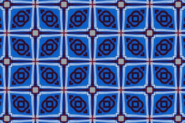 Blaues abstraktes hintergrundmuster