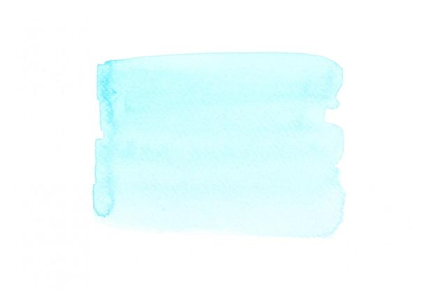 Blaues aquarell für einen abstrakten hintergrund.