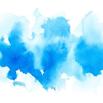 Blaues aquarell.