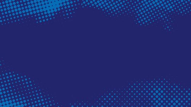 Blaues halbton abstraktes backgroun