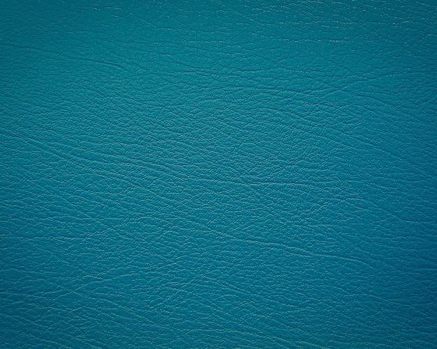 Blaues leder mit textur / struktur