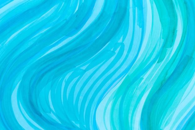 Blaues muster der abstrakten welle stockillustration
