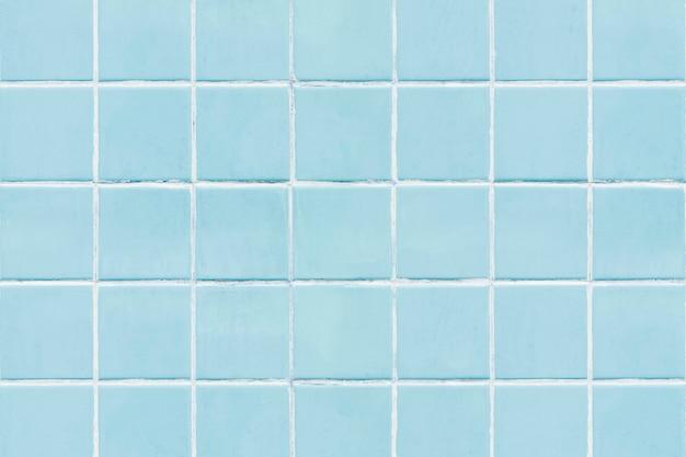 Blaues quadrat mit ziegeln gedeckter texturhintergrund