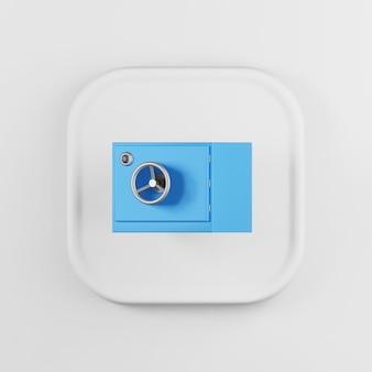 Blaues sicheres symbol