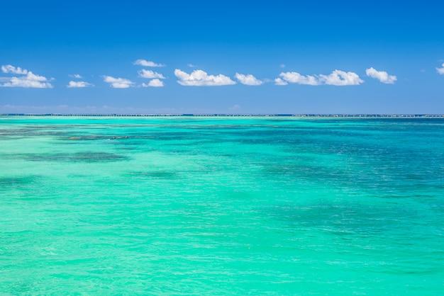 Blaues tropisches meer