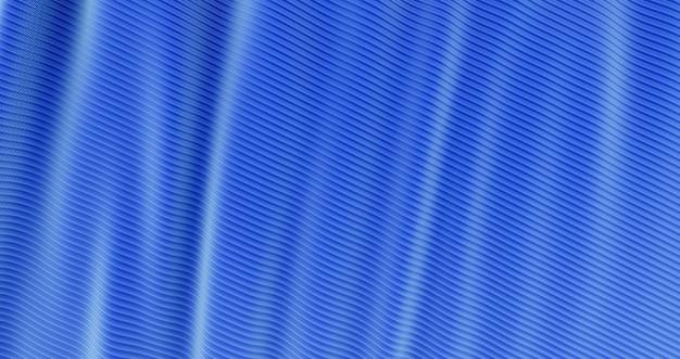 Blaues tuch des abstrakten hintergrundluxus, wellenseide oder satinstoff, blaues tuch