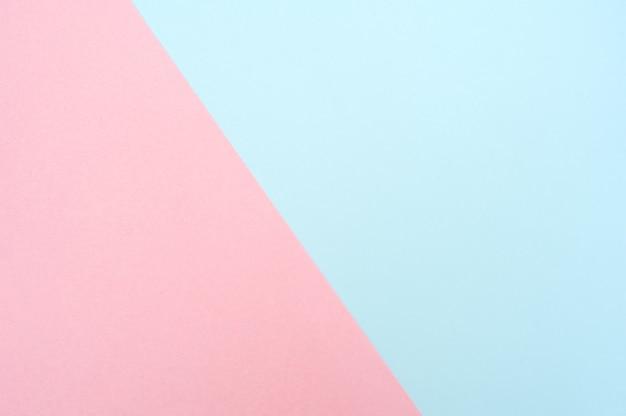 Blaues und rosa papier