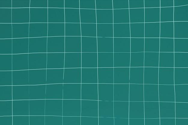 Blaugrün verzerrter geometrischer quadratischer fliesenbeschaffenheitshintergrund
