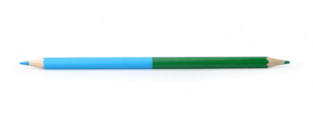 Bleistift isoliert auf weiß