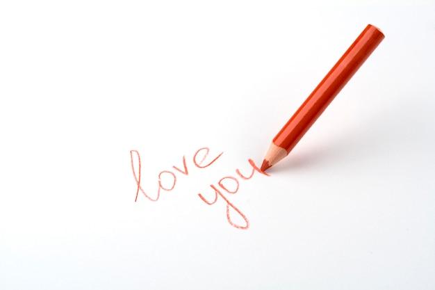 Bleistift schreiben