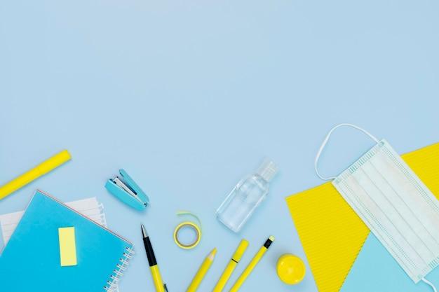 Bleistift- und maskenanordnung